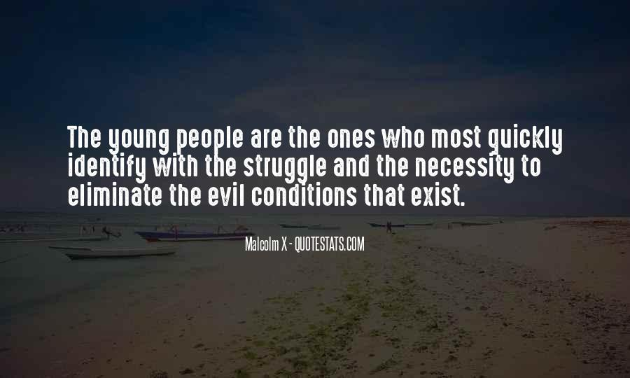 Does Evil Exist Quotes #744290