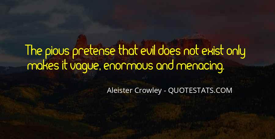 Does Evil Exist Quotes #873395