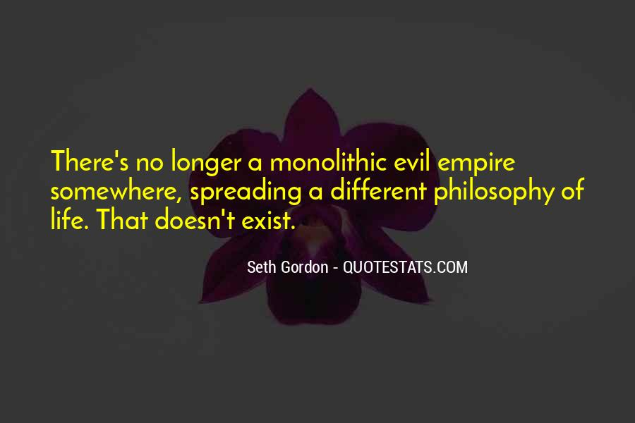 Does Evil Exist Quotes #968289