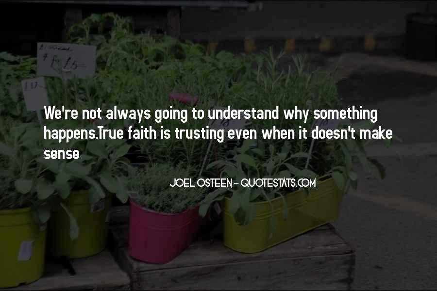 Doesn't Make Sense Quotes #140016