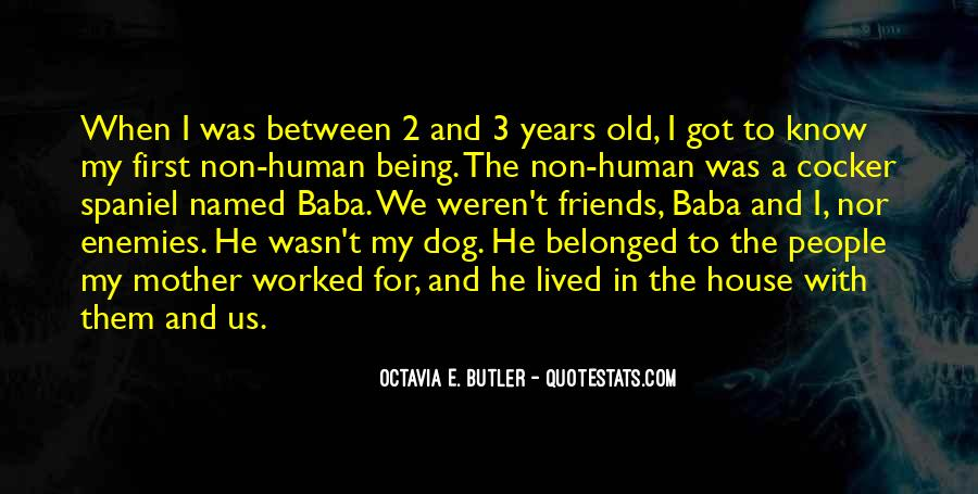 Dog And Human Quotes #1259382