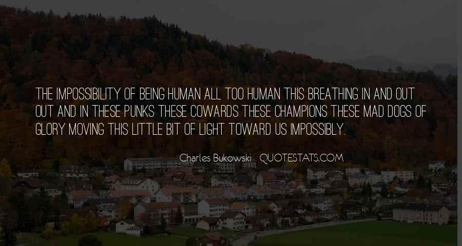 Dog And Human Quotes #1358173