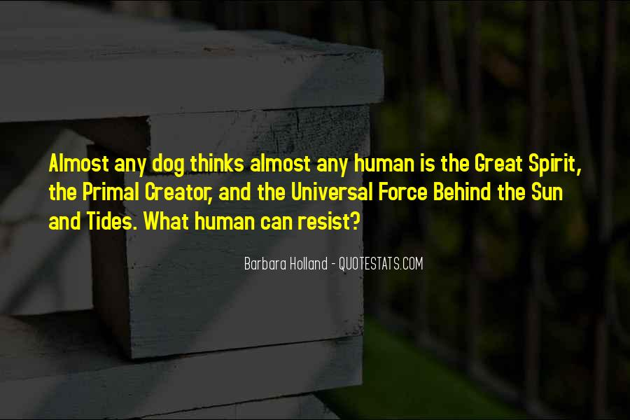 Dog And Human Quotes #1581026