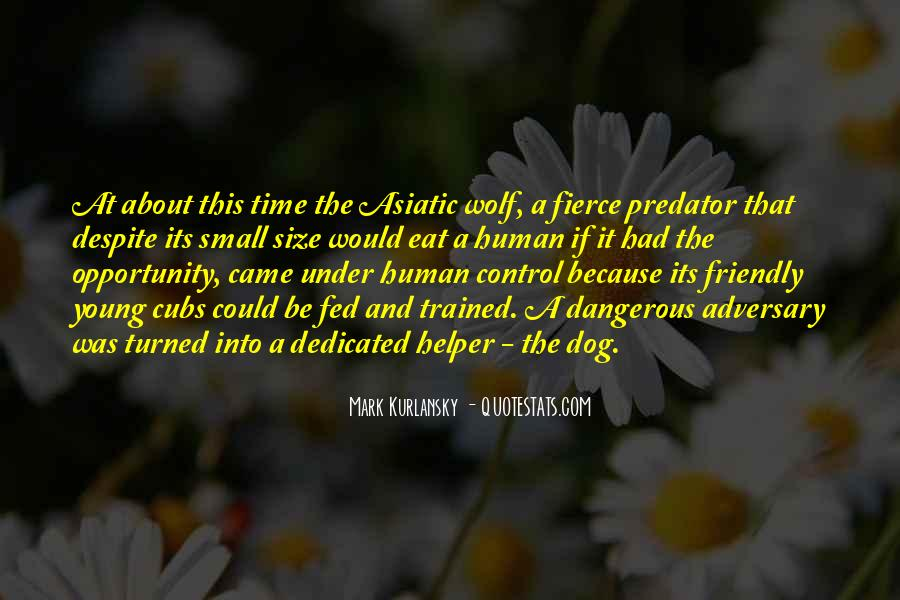 Dog And Human Quotes #1665844
