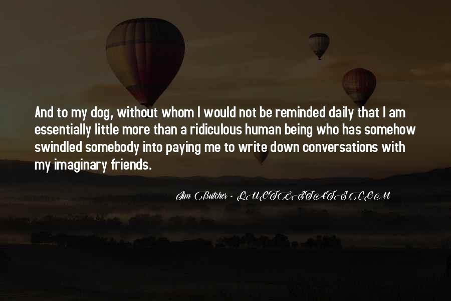 Dog And Human Quotes #1681943