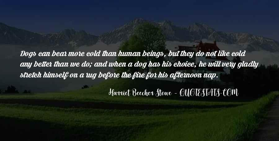 Dog And Human Quotes #1780627