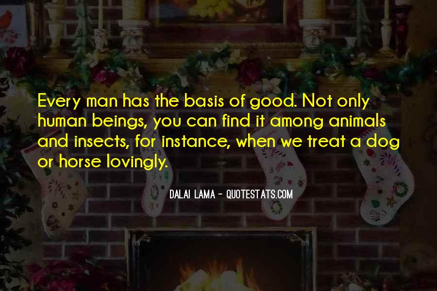 Dog And Human Quotes #21694