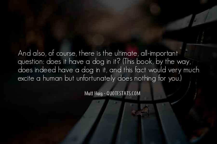 Dog And Human Quotes #563163
