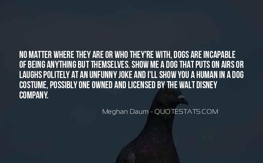 Dog And Human Quotes #585477