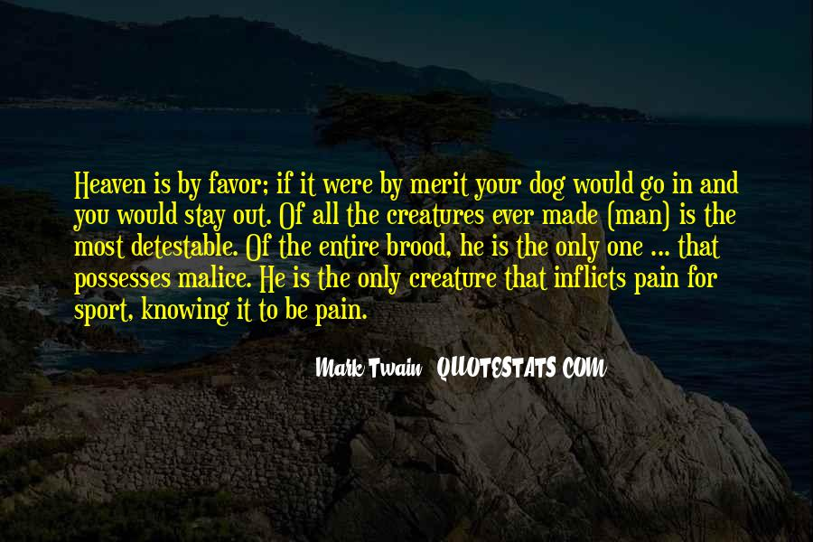 Dog And Human Quotes #736230