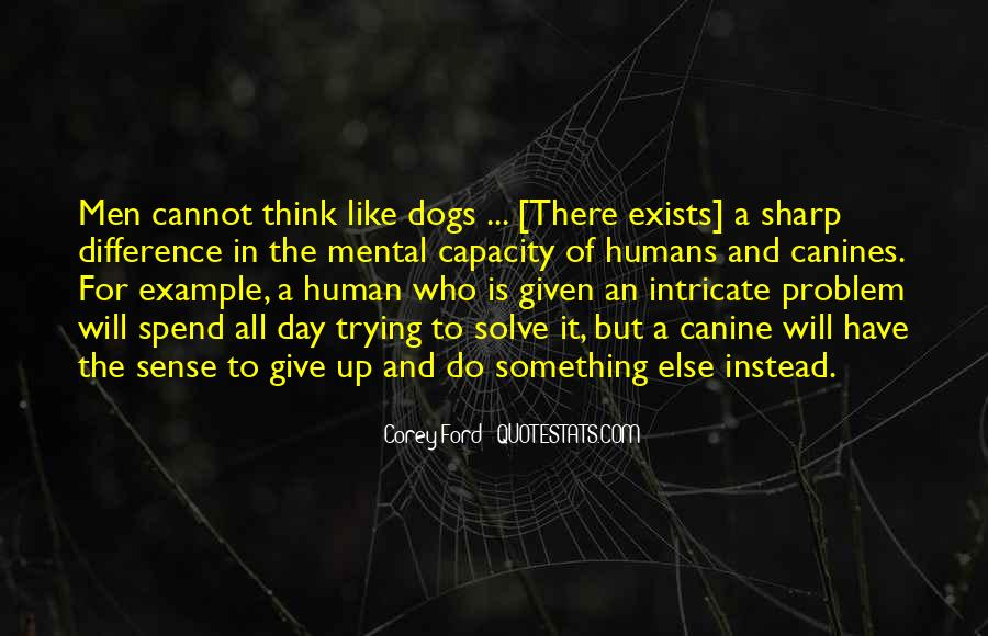 Dog And Human Quotes #785218