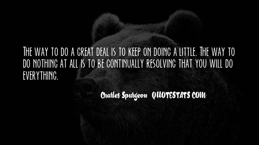 Doing Deals Quotes #1449040