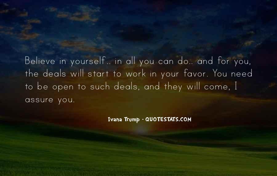 Doing Deals Quotes #24252
