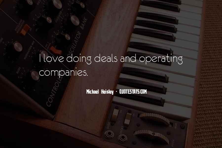 Doing Deals Quotes #290514