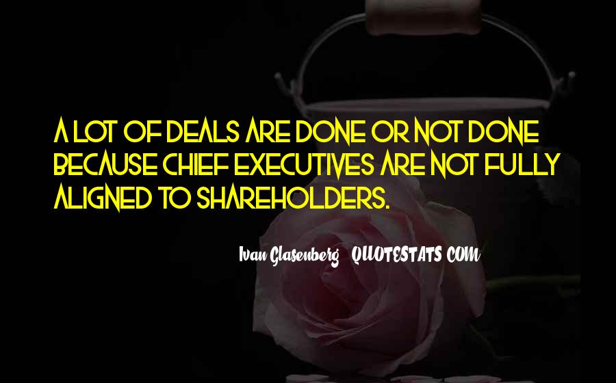 Doing Deals Quotes #45301