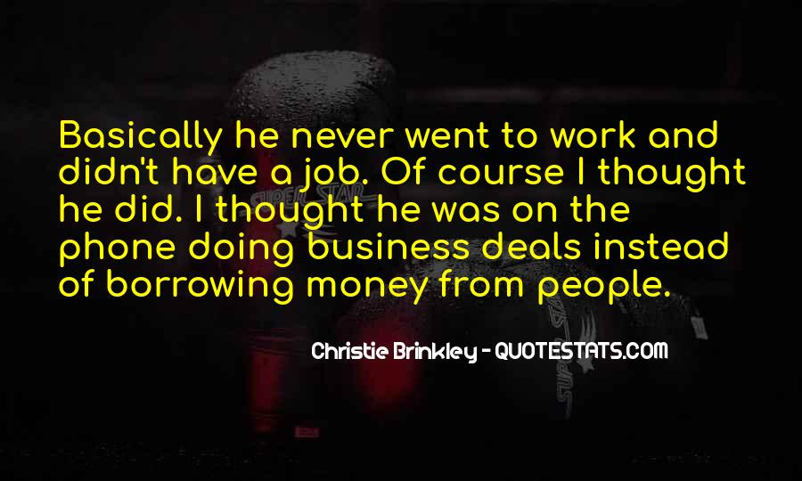 Doing Deals Quotes #533217