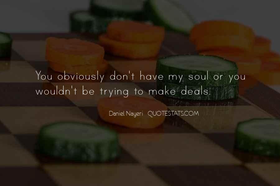 Doing Deals Quotes #63544