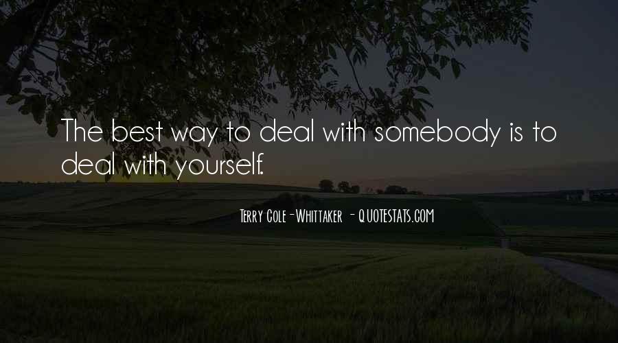 Doing Deals Quotes #89008