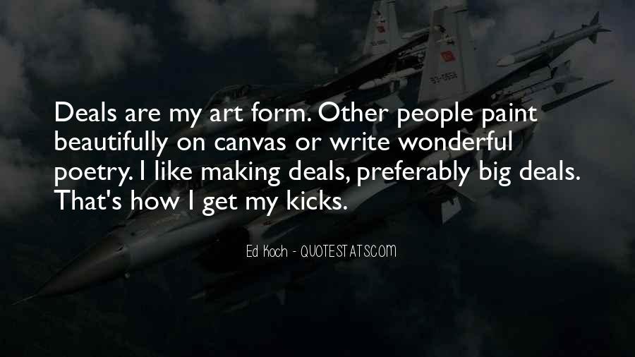 Doing Deals Quotes #9970