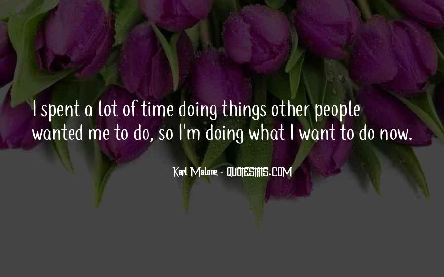 Doing Me Now Quotes #295378