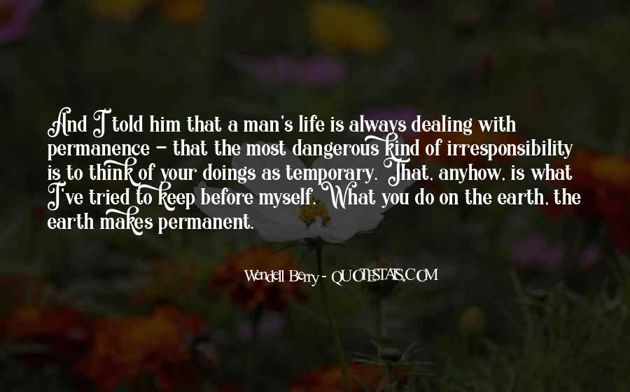 Doings Quotes #1468691