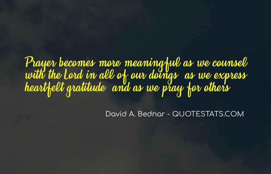 Doings Quotes #1595602