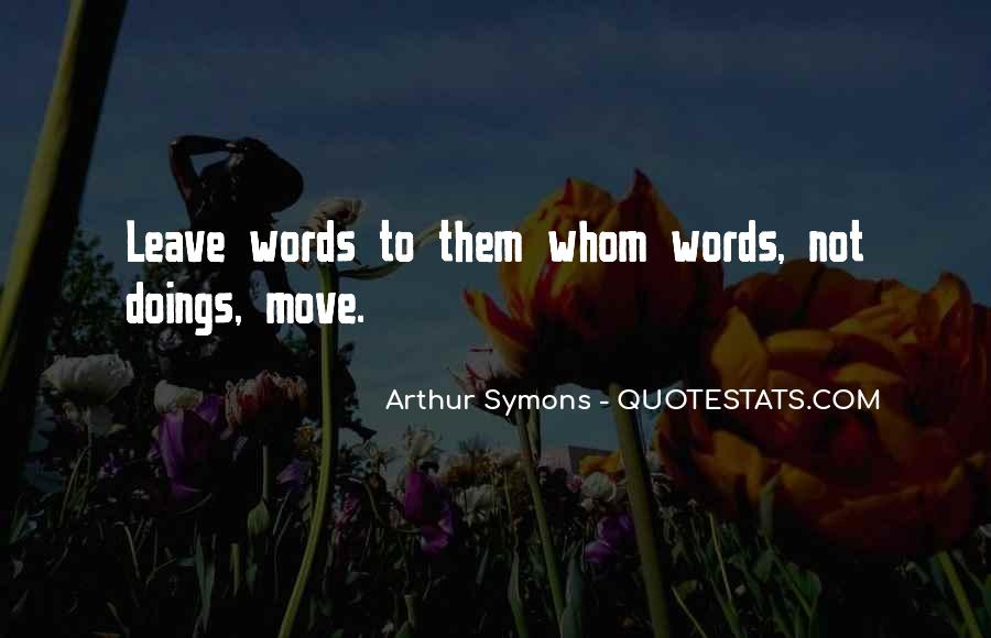 Doings Quotes #289961