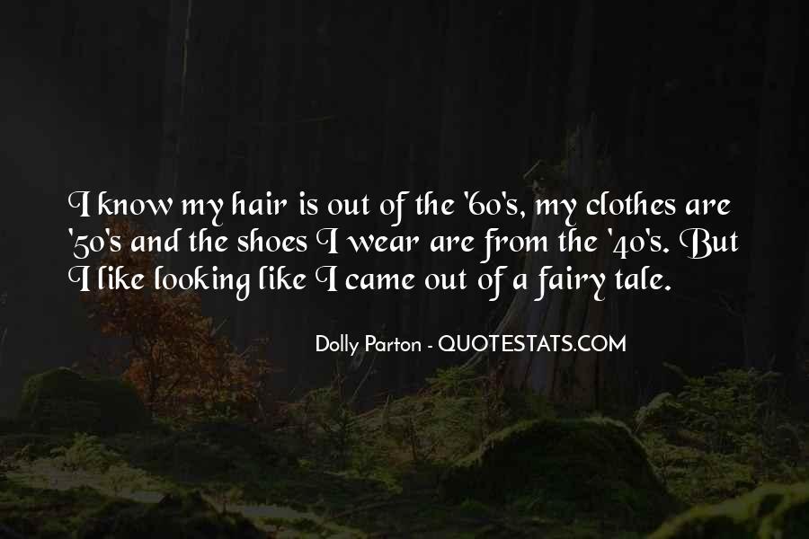 Dolly Parton Hair Quotes #1240438