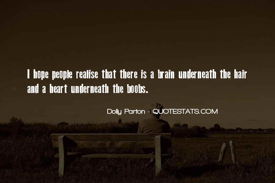 Dolly Parton Hair Quotes #1302136