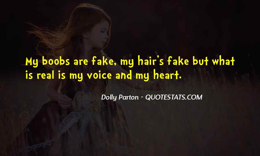 Dolly Parton Hair Quotes #197525