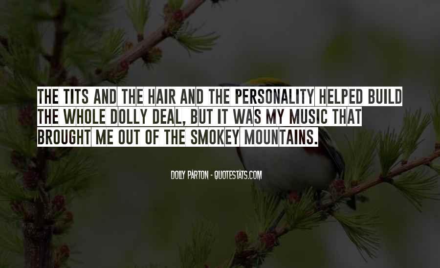 Dolly Parton Hair Quotes #619402