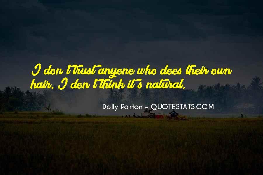 Dolly Parton Hair Quotes #861271