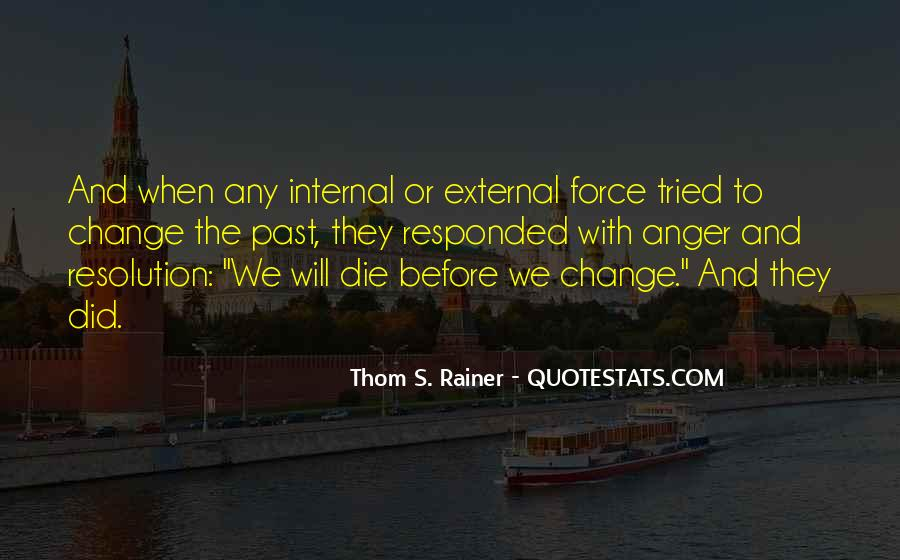 Quotes About Internal Change #1626607