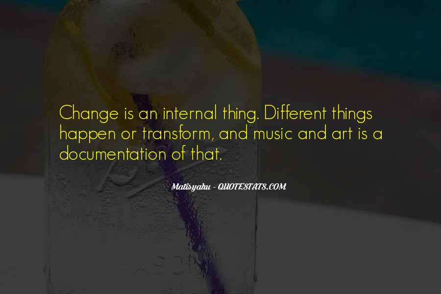 Quotes About Internal Change #445371