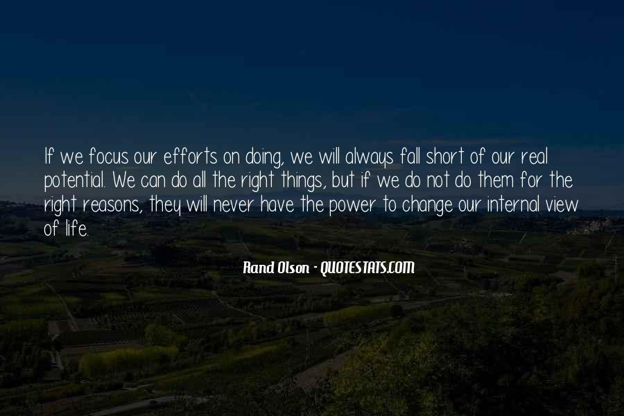 Quotes About Internal Change #77116