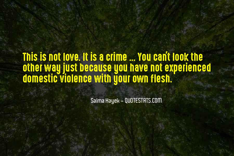Domestic Violence Abuse Quotes #1373041
