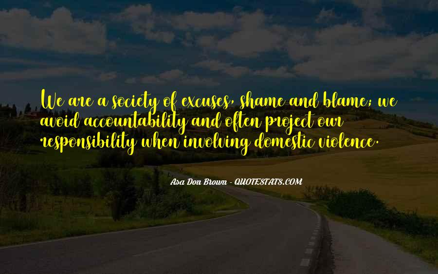 Domestic Violence Abuse Quotes #1695575