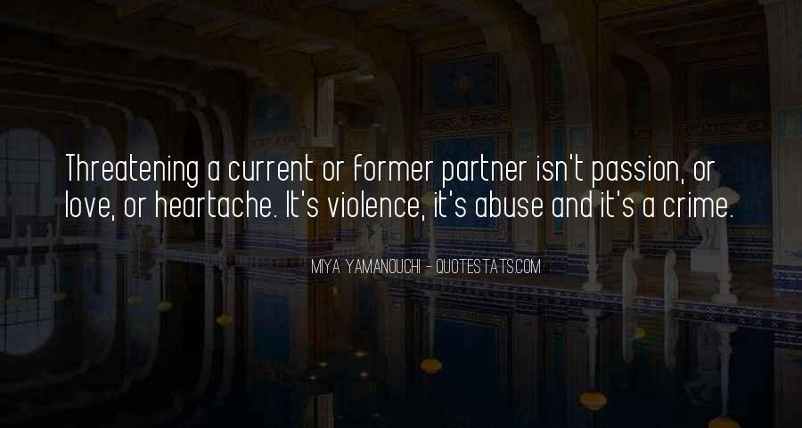 Domestic Violence Abuse Quotes #188018