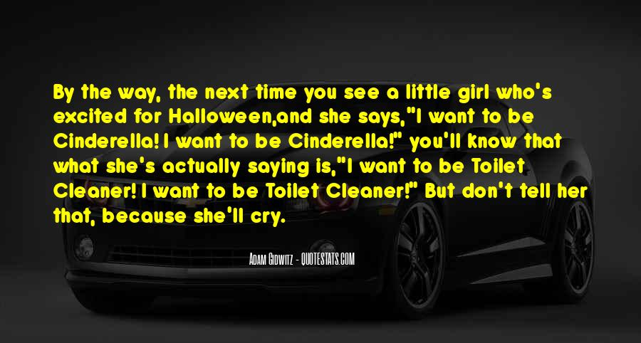 Don Be That Girl Quotes #1108120