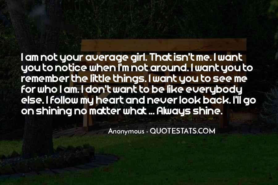 Don Be That Girl Quotes #1123173