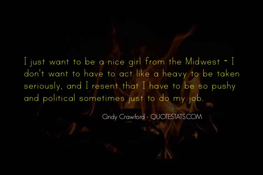 Don Be That Girl Quotes #641800