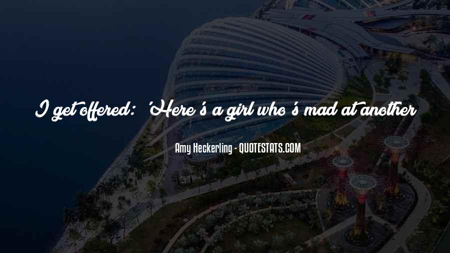 Don Be That Girl Quotes #73241