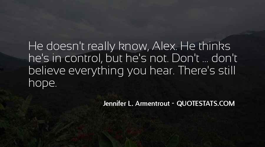 Don Believe Everything You Hear Quotes #1241059