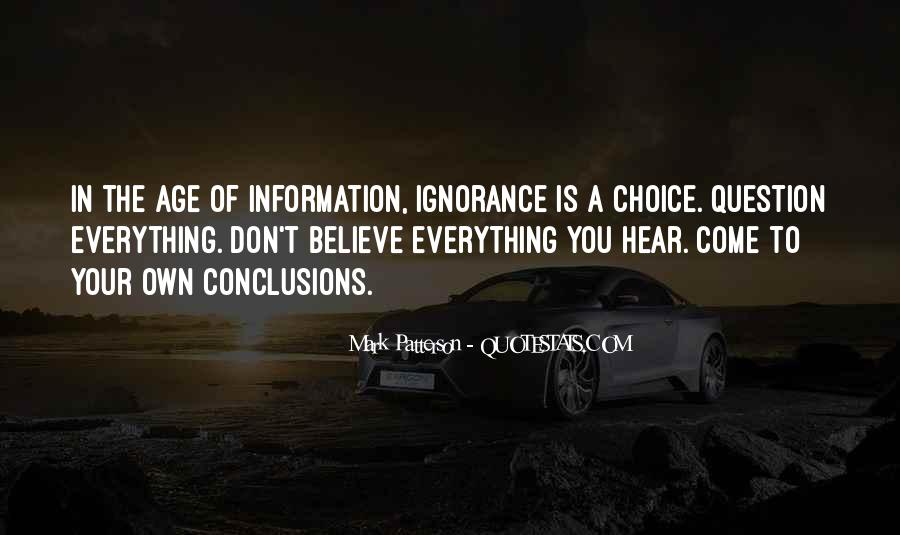 Don Believe Everything You Hear Quotes #777083