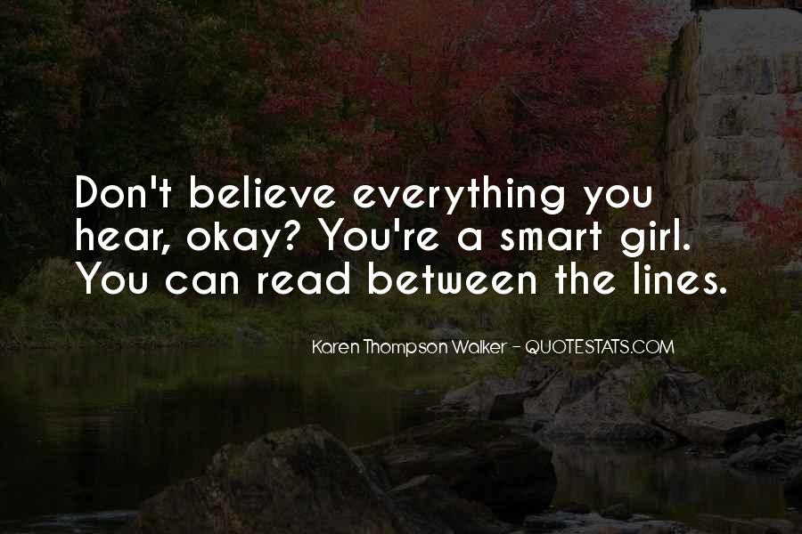 Don Believe Everything You Hear Quotes #866603