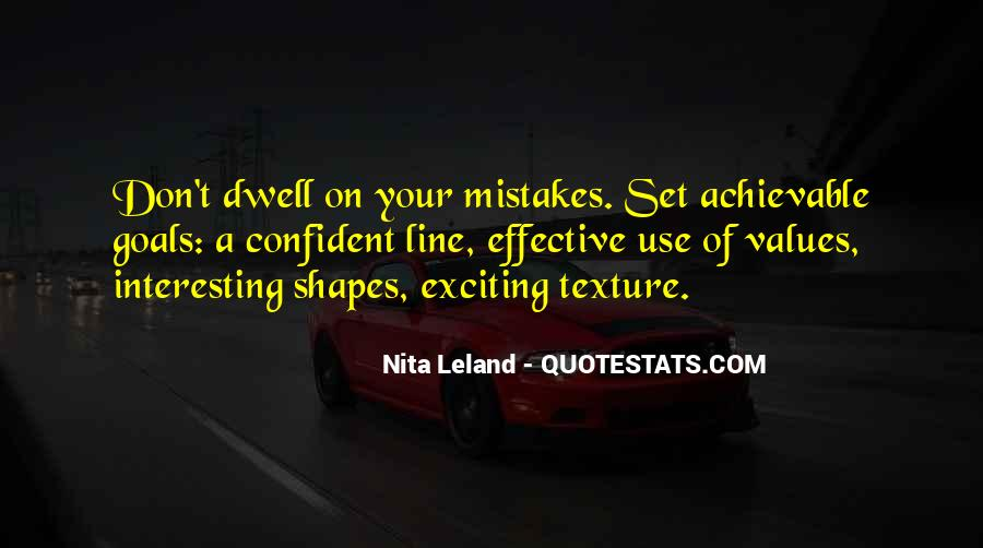 Don Dwell On The Past Quotes #965451