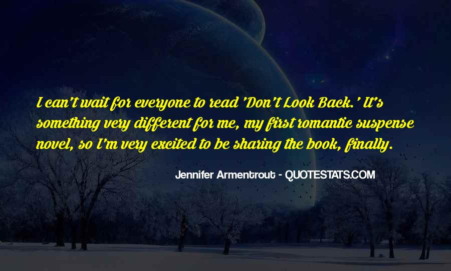 Don Look Back Jennifer Armentrout Quotes #1240715