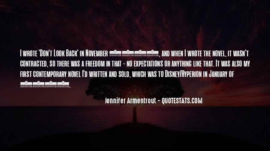 Don Look Back Jennifer Armentrout Quotes #1431178