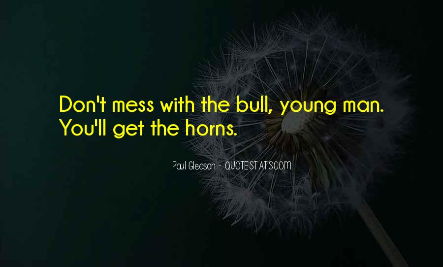 Don Mess Up Me Quotes #69522