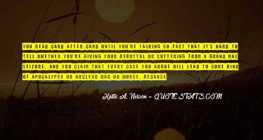 Don't Argue Quotes #120063